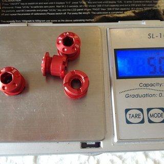 Gewicht Face Kettenblattschrauben Kettenblattschrauben  M8x5mm, 4x
