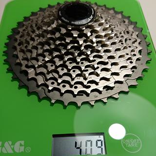 Gewicht Shimano Kassette XT CS-M8000 11-fach, 11-40Z