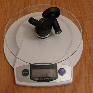 Gewicht Oury Weiteres/Unsortiertes Lenkerendkappen