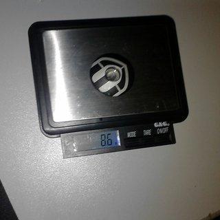 "Gewicht Mondraker Ahead-Kappe Ahead-Kappe 1 1/8"""
