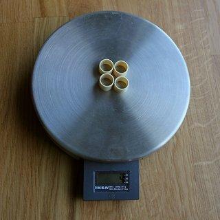 Gewicht Huber Bushings Weiteres/Unsortiertes Dämpfer Gleitlager 12,7mm
