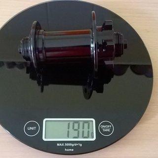Gewicht Bitex Industrial Nabe MTF15 VR-Nabe 100mm/QR