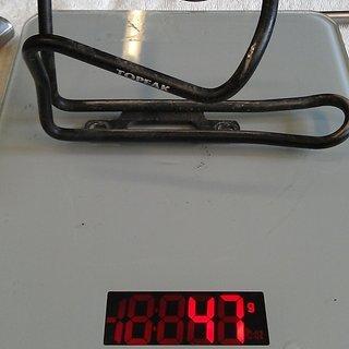 Gewicht Topeak Flaschenhalter Shuttle Cage AL