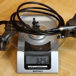 Gewicht Hayes Scheibenbremse HFX 9 HR, 1300mm
