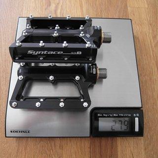 Gewicht Syntace Pedale (Platform) Numbernine Titan Small
