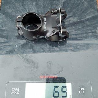 Gewicht Newmen Vorbau Evolution SL 318.2 50mm