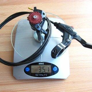 Gewicht Avid Scheibenbremse BB7 HR, 1510mm
