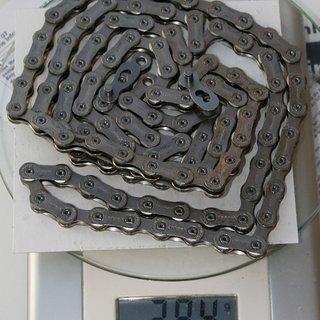 Gewicht Wippermann Kette Connex 10s8 114 Glieder