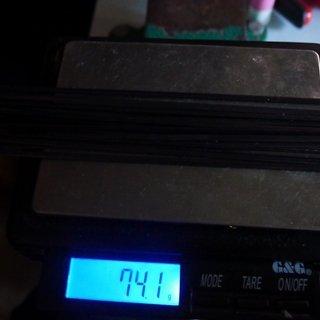 Gewicht Sapim Speiche CX-Ray 258mm, 17 Stück