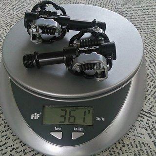 Gewicht XLC Pedale (Klick) PD-S03