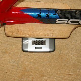 Gewicht Scott Hardtail Endorphin Pro Racing M - 48 cm