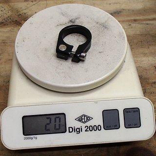 Gewicht Islabikes Sattelklemme Sattelklemme 25,4mm