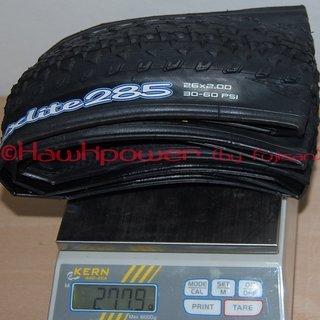 Gewicht Maxxis Reifen MaxxLite 285 26x2.0 / 50-559