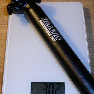 Gewicht Truvativ Sattelstütze Hussefelt Double Clamp 31,6 x 350mm