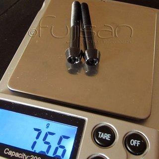 Gewicht Tuning Pedals Schrauben, Muttern konische Inbusschraube M5x40, Ti