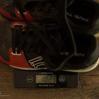 Gewicht Five Ten Bekleidung Hellcat 43