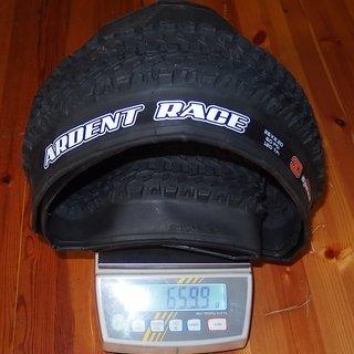 Gewicht Maxxis Reifen Ardent Race 26x2.20