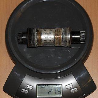 Gewicht Shimano Innenlager Deore LX BB-ES51 68/121mm BSA