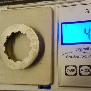 Gewicht Recon Kassettenabschlussring RHG-09Ti  11z