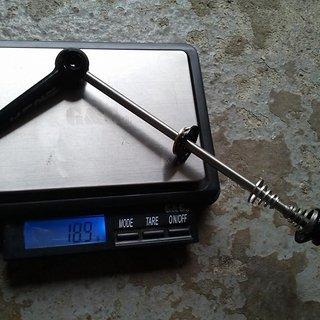 Gewicht KCNC Schnellspanner MTB Ti 100mm