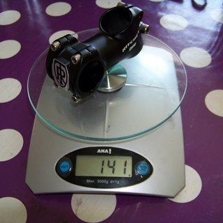 Gewicht Ritchey Vorbau Comp 31.8mm, 70mm, 30°