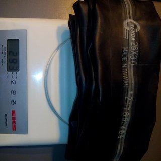Gewicht Kenda Schlauch Universalschlauch AV, 26x3,0