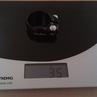 Gewicht Salsa Sattelklemme Lip-Lock 35.0mm