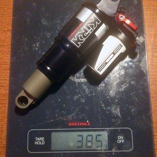 Gewicht BOS Dämpfer Kirk 216x63