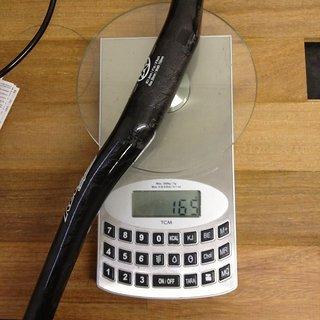 Gewicht Reverse Components Lenker RCC 750 Carbon 31.8mm, 750mm