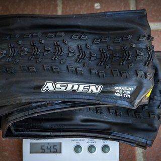 Gewicht Maxxis Reifen Aspen eXCeption 29x2.10 / 52-622