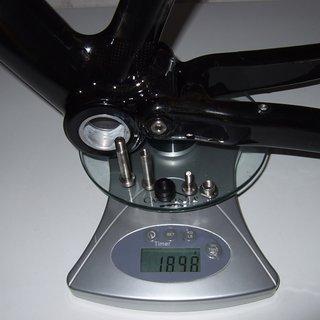 Gewicht Canyon Full-Suspension LUX MR  M