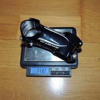 Gewicht Ritchey Vorbau WCS 4-Axis 31.8mm, 70mm, 6°