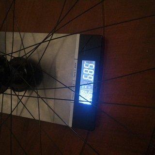 Gewicht Tune Systemlaufräder King 15mm + ZTR Arch Ex 650b + Dt Revolution 28x 278mm + Dt Alunippel 12mm 650b