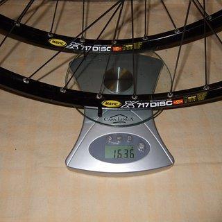 Gewicht Nope Weiteres/Unsortiertes N75 Mavic XC717 DT Revo Alu VR + HR 26
