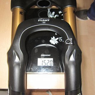 "Gewicht Fox Racing Shox Federgabel 32 Float 100 FIT RLC 26"", 100mm, Tapered"