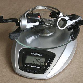 Gewicht Shimano Schalthebel LX SL-M571 3x9-fach