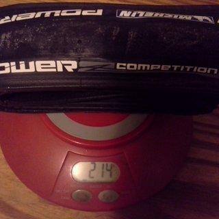 Gewicht Michelin Reifen Power Competition 700x25C, 25-622