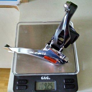 Gewicht Shimano Umwerfer Tiagra FD-4700 31.8 mm