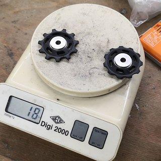 Gewicht Shimano Schaltröllchen XTR RD-M972/980/981 11 Zähne