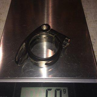 Gewicht Syntace Sattelklemme Superlock 38.0mm