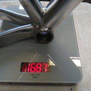 Gewicht Cube Hardtail LTD Comp S