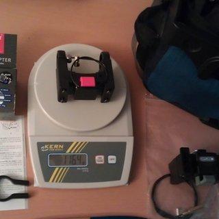 Gewicht No-Name Alles andere Lenkertasche KLICKfix (Lenkeradapter) 31,8mm