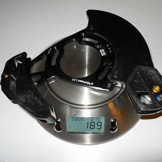 Gewicht e-thirteen Kettenführung LG1+ 36-40Z, ISCG-05