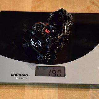 Gewicht Syncros Vorbau FR Stem 31.8mm, 50mm, 8°
