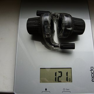 Gewicht Grip Shift Drehschaltgriff SRT 800 3x8-fach