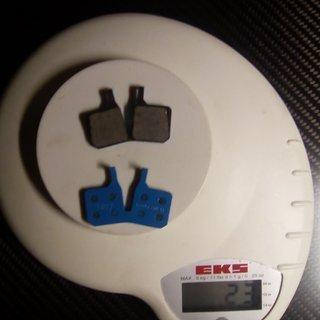 Gewicht Magura Bremsbelag 9.C --