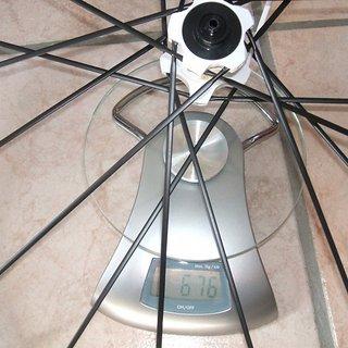 Gewicht Mavic Systemlaufräder Crossmax SLR VR, 100mm/QR