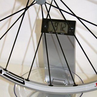 Gewicht DT Swiss Systemlaufräder M 1700 Tricon HR, 135mm/QR