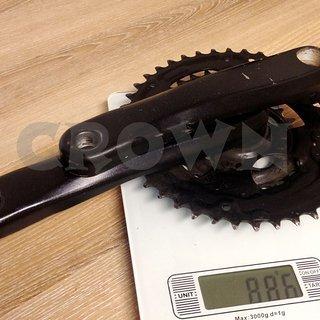 Gewicht Shimano Kurbelgarnitur FC-M171 170mm, 24/34/42Z