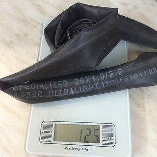 """Gewicht Specialized Schlauch Presta Turbo Tube SV/26x1.9-2.3"""""""